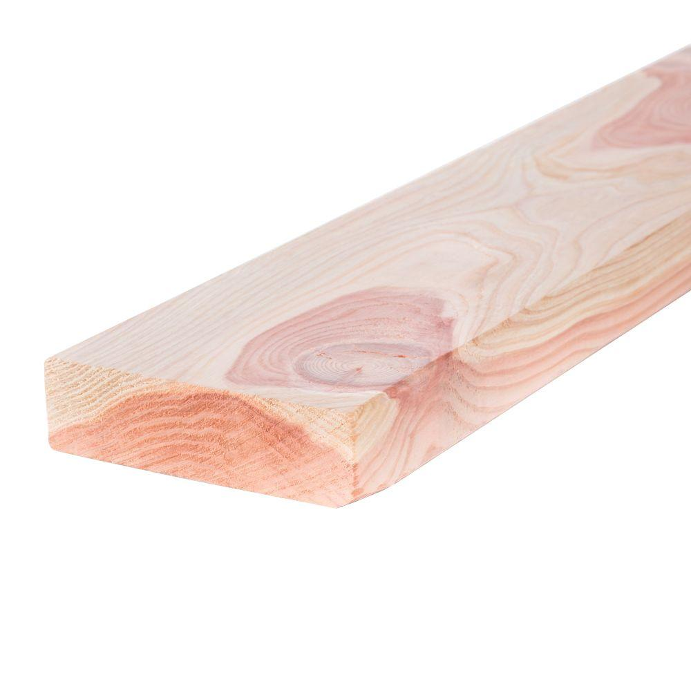 Mendocino Forest Products 2 in. x 6 in. x 6 ft. Construction Common Redwood Lumber