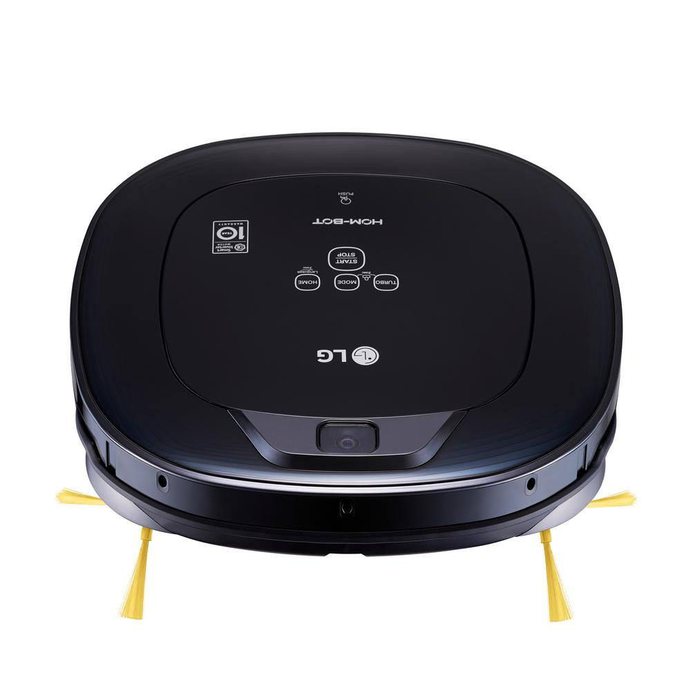 Hom-Bot Robotic Vacuum Cleaner in Black