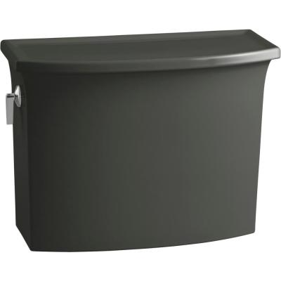 Archer 1.28 GPF Single Flush Toilet Tank Only with AquaPiston Flushing Technology in Thunder Grey