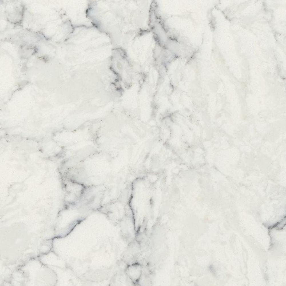 LG Hausys Viatera 3 In. X 3 In. Quartz Countertop Sample In Rococo
