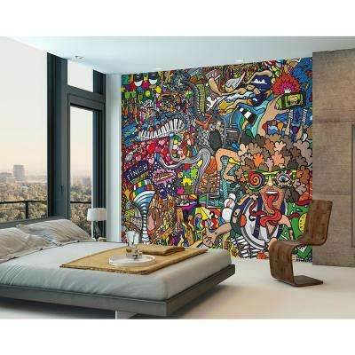 Sports Illustrations Wall Mural