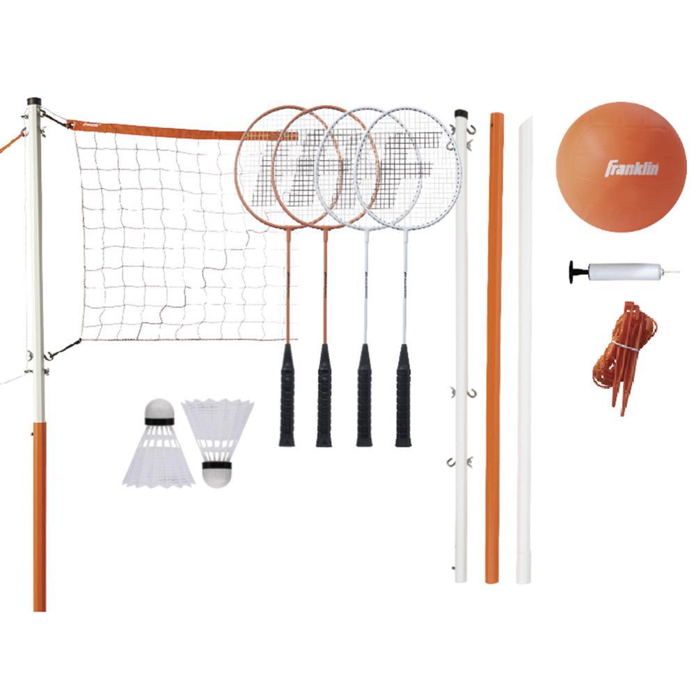 Starter Volleyball Badminton Combo Set