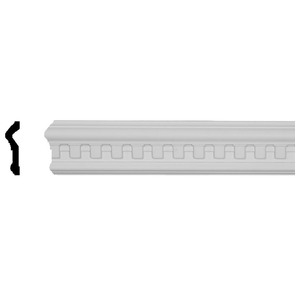 2 5//8H x  3//4P x 94 1//2L Norwich Dentil Panel Moulding