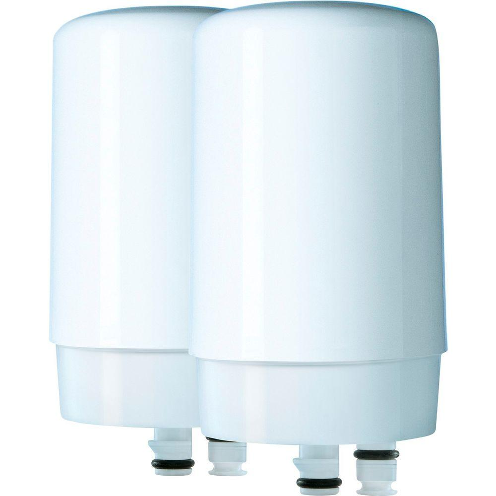 Water Filter That Attaches To Faucet. Brita Faucet Mount Replacement Water Filters  2 Pack 6025842402