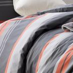 The Company Store Jesse 3-Piece 200-Thread Count Cotton Percale Full Duvet Cover Set