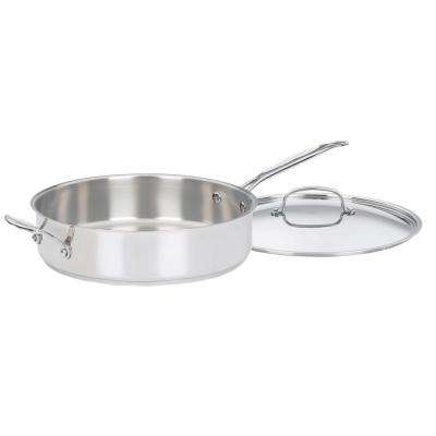 Chef's Classic 5.5 Qt. Steel Saute Pan