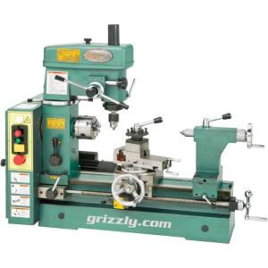 Grizzly Industrial 19-3/16 in  Combo Lathe/Mill-G4015Z - The Home Depot