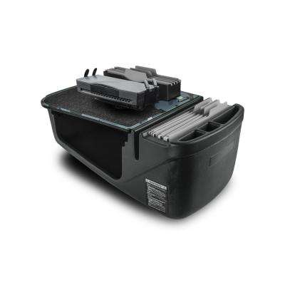 Efficiency FileMaster Urban Camouflage Car Desk with Built-in Power Inverter and Printer Stand