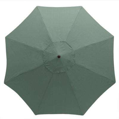 11 ft. Aluminum Patio Umbrella in Spa