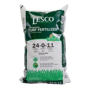 Lesco 50 Lbs 24 0 11 No Phos Fertilizer 080258 The Home