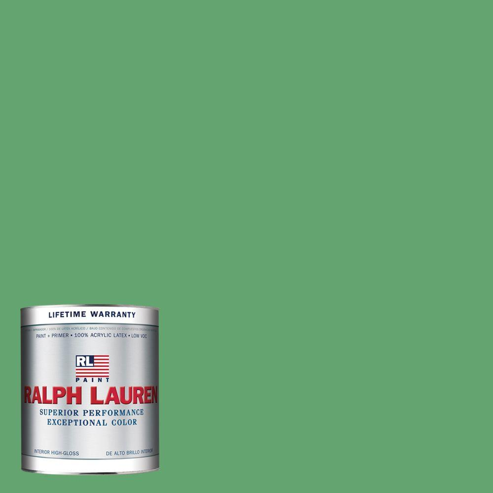 Ralph Lauren 1-qt. Jamaica Green Hi-Gloss Interior Paint
