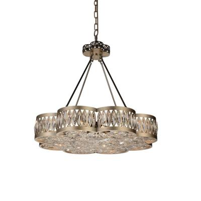 Nova 8-Light Champagne Chandelier