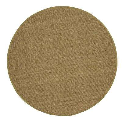 Seascape Natural 8 ft. x 8 ft. Round Area Rug