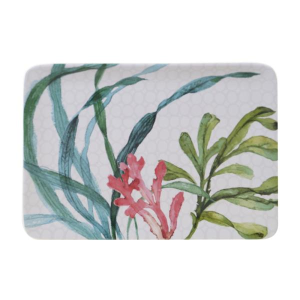 Sea Green Ceramic Rectangular Platter