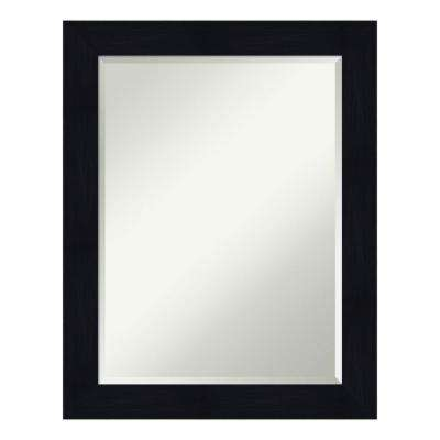 Shiplap Navy Bathroom Vanity Mirror