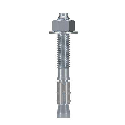 Strong-Bolt 3/8 in. x 3 in. Zinc-Plated Wedge Anchor (50-Pack)