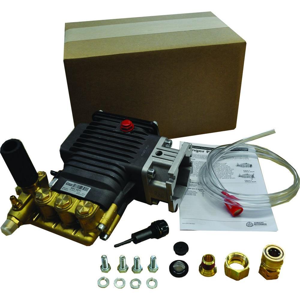 3500-PSI 3-GPM Triplex Plunger Pump