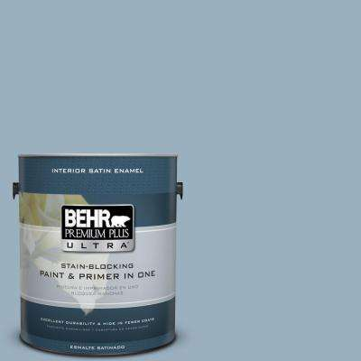 Home Decorators Collection 1 gal. #HDC-CT-24 Rainy Sidewalk Satin Enamel Interior Paint and Primer in One
