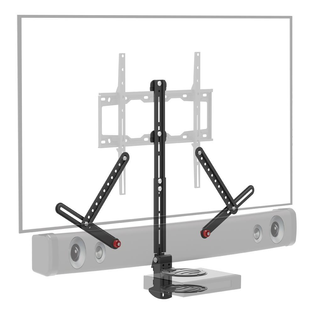 Barkan Soundbar Mount up to 14.3 lbs. and AV Shelf-Up to 7.7 lbs. Fits Components 0.7 in. to 3.1 in. TVs up to 80 in.