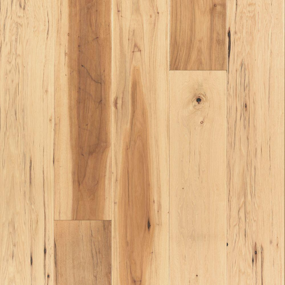 Mohawk Take Home Sample - Big Sky Collection Country Natural Hickory Engineered Hardwood Flooring - 5 in. x 7 in.