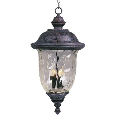 Carriage House Die Cast 2-Light Oil-Rubbed Bronze Outdoor Hanging Lantern