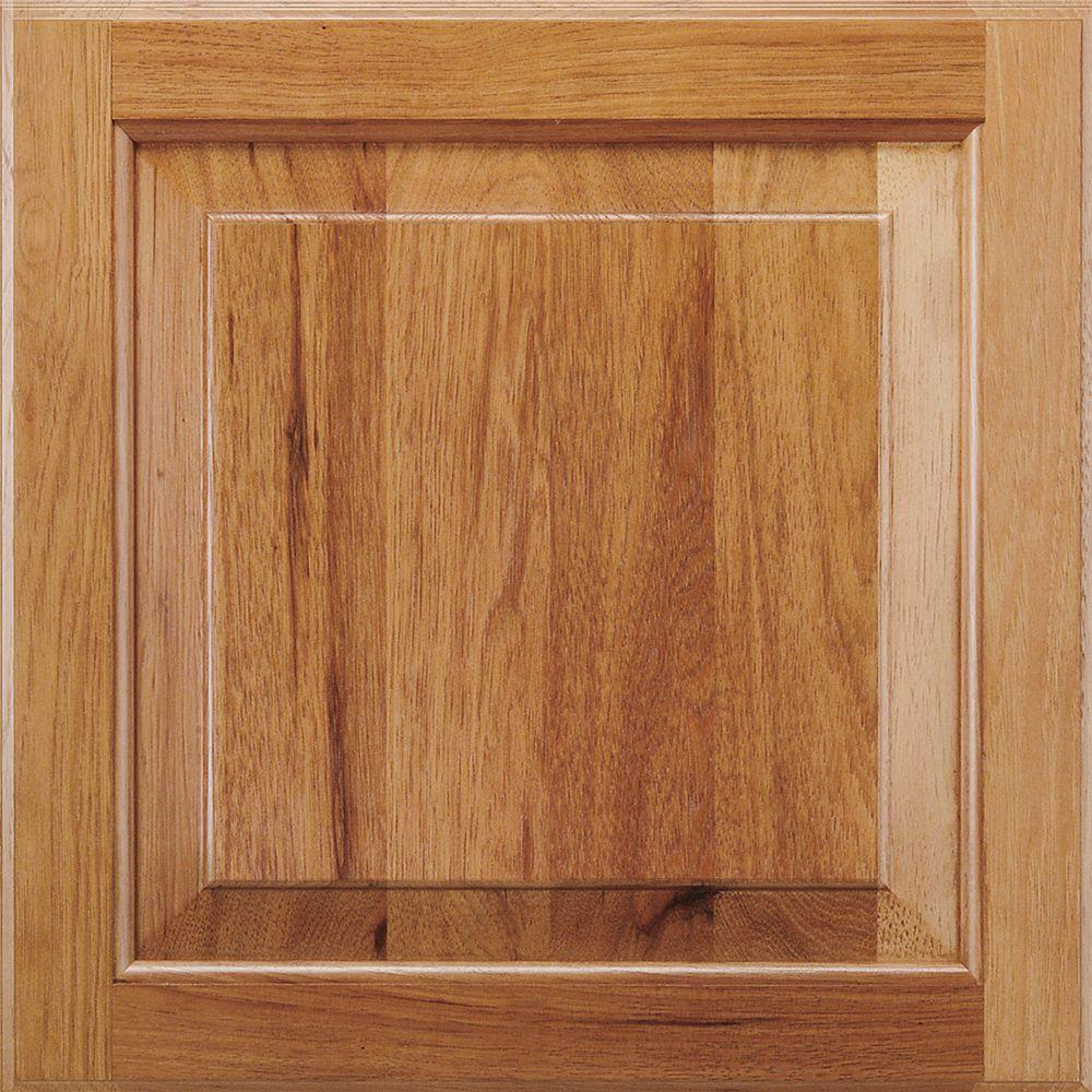 American Woodmark 14 9 16x14 1 2 In Cabinet Door Sample In Charlottesville Hickory Spice 99860 Bath Take The Guesswork Out Of Ordering With A 15 In X
