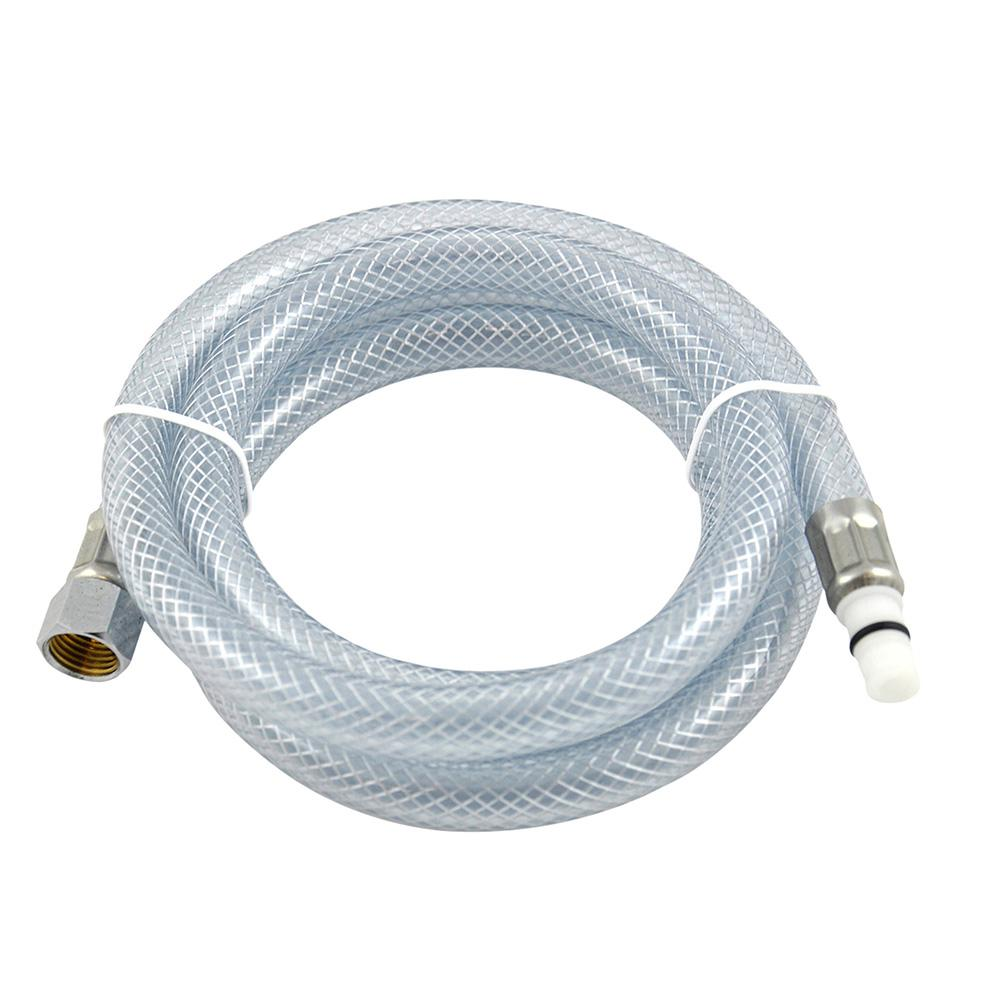 DANCO 48 in. Clear Side Spray Hose-10341 - The Home Depot