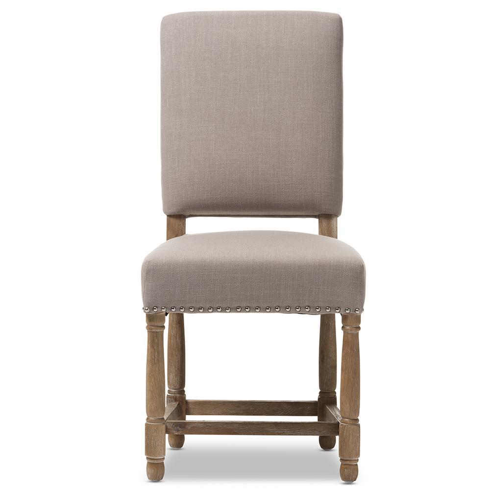 Deborah Beige Fabric Upholstered Dining Chair