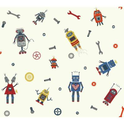 Waverly Kids Some Assembly Required Wallpaper