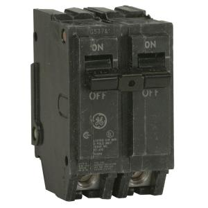 ge q line 125 amp 2 in double pole circuit breaker residential breaker box wiring double pole circuit breakers