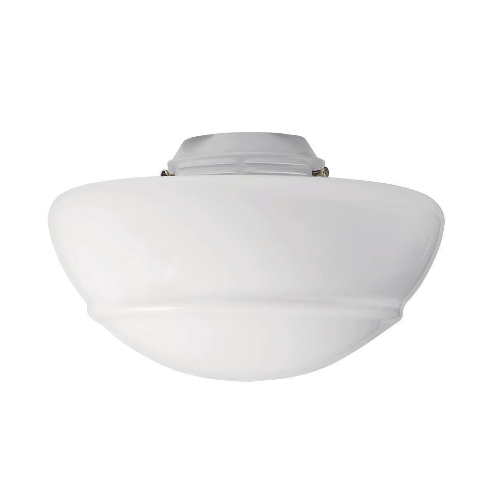 Ceiling Fan With Light Fixture: Vista Replacement Ceiling Fan Globe Light