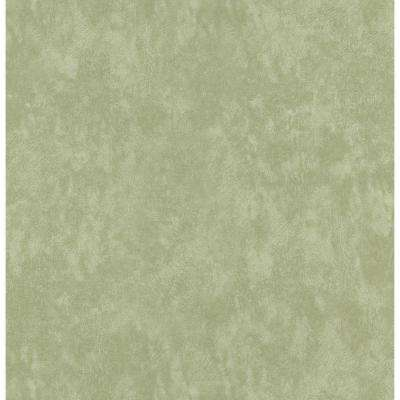 Northwoods Lodge Green Leather Textured Wallpaper Sample