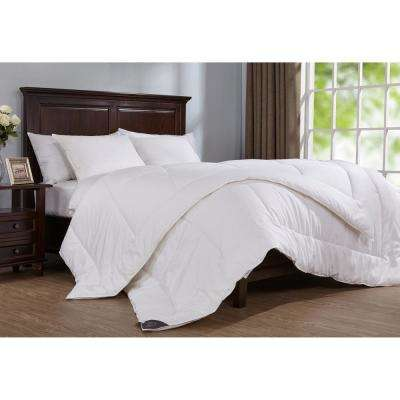 400 Thread Count Down Alternative Year Round Comforter Twin in White