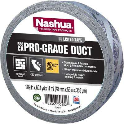 1.89 in. x 60 yd. 558CA Pro-Grade UL Listed Duct Tape