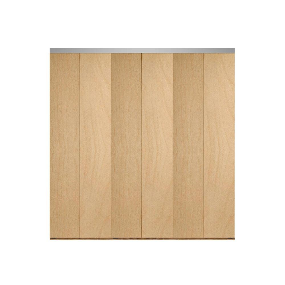 Impact plus 108 in x 84 in smooth flush stain grade for Solid core flush door
