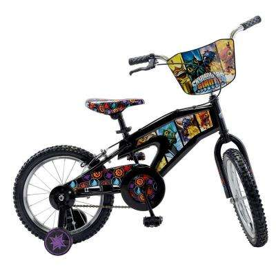 Street Flyers Skylanders Kid's Bike, 16 in. Wheels, 11 in. Frame, Boy's Bike in Black