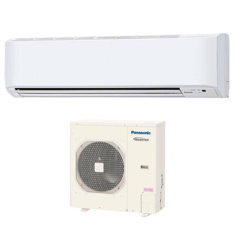 Panasonic 30,000 BTU 2.5 Ton Ductless Mini Split Air Conditioner with Heat Pump - 208 or 230V/60Hz