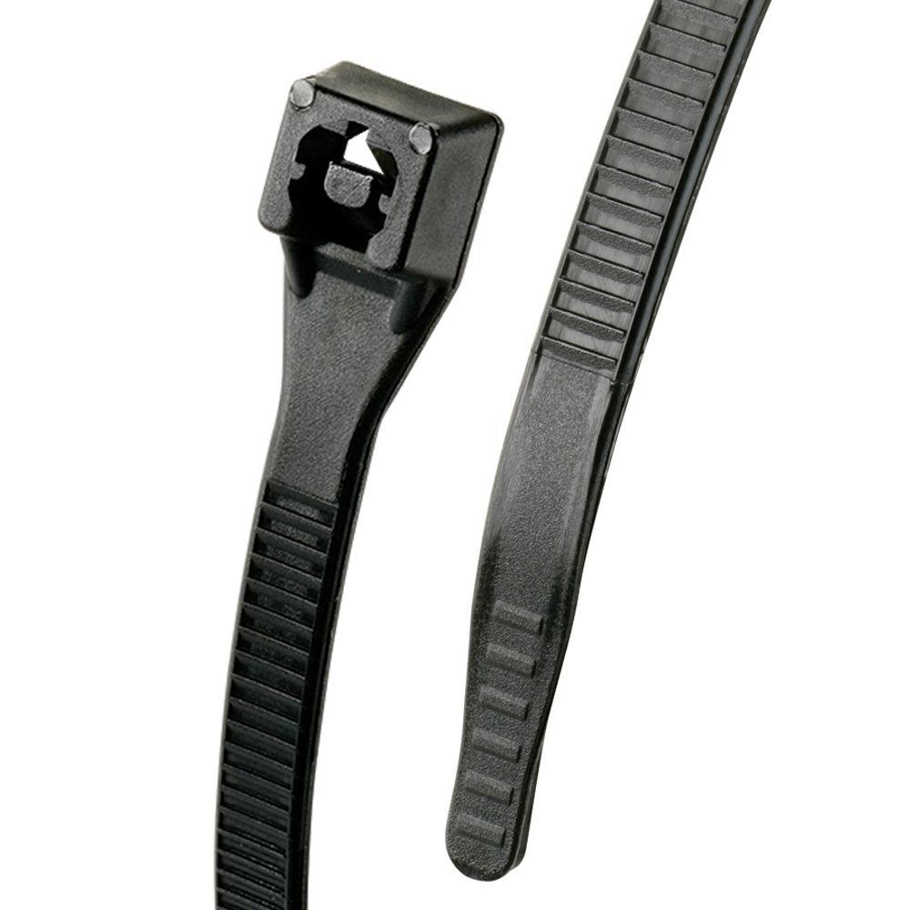 11 in. Xtreme Cable Tie, Black (100-Pack)