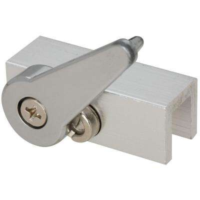 1-3/4 in. Solid Brass Aluminum Sliding Lock