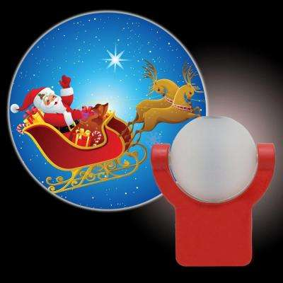 Holiday, Santa and Reindeer Plug-In Night Light