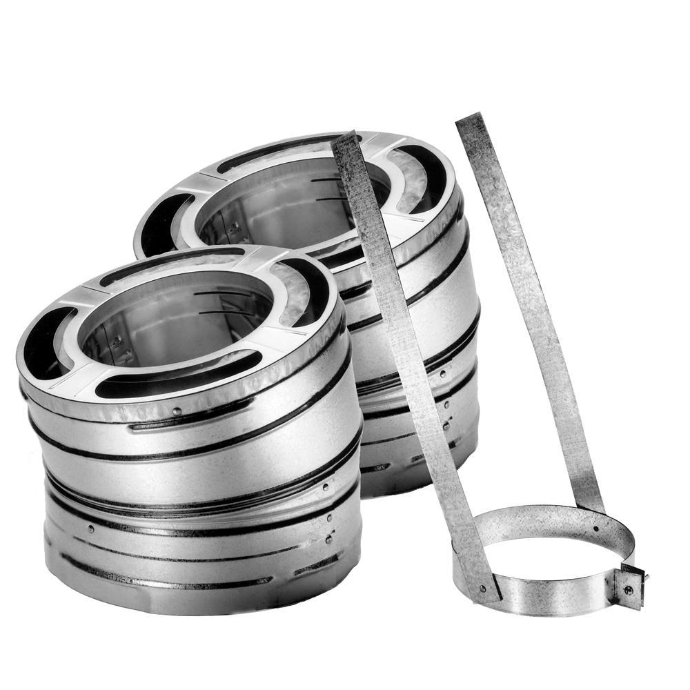 DuraPlus 6 in. 30° Stainless Steel Elbow Kit