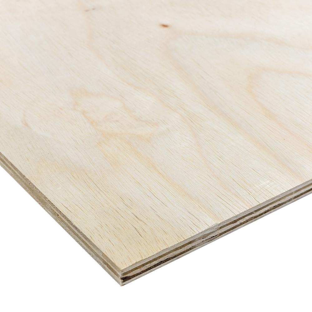 Dimensions Sande Plywood (Common: 3/4 in. x 2 ft. x 4 ft.; Actual: 0.709 in. x 23.75 in. x 47.75 in.)