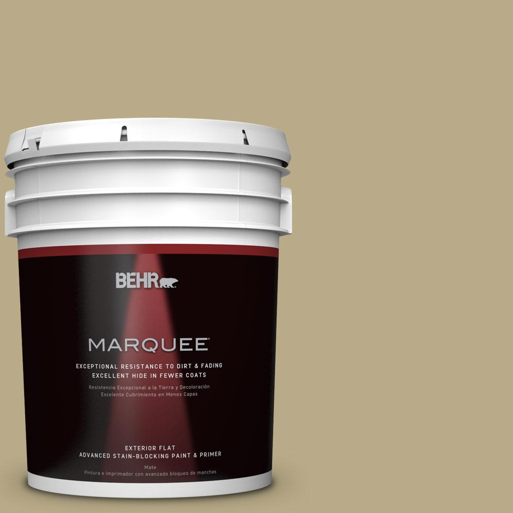 BEHR 5-gal. #S330-4 Fennell Seed Flat Exterior Paint