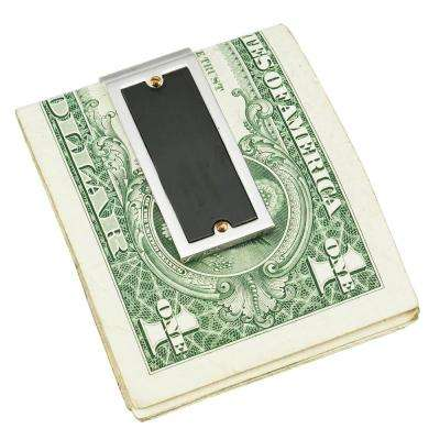 Magnus Black Matte Stainless Steel Money Clip