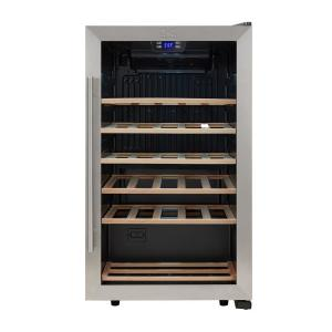 Kalorik 33 Bottle Wine Cooler Wcl 43915 Ss The Home Depot