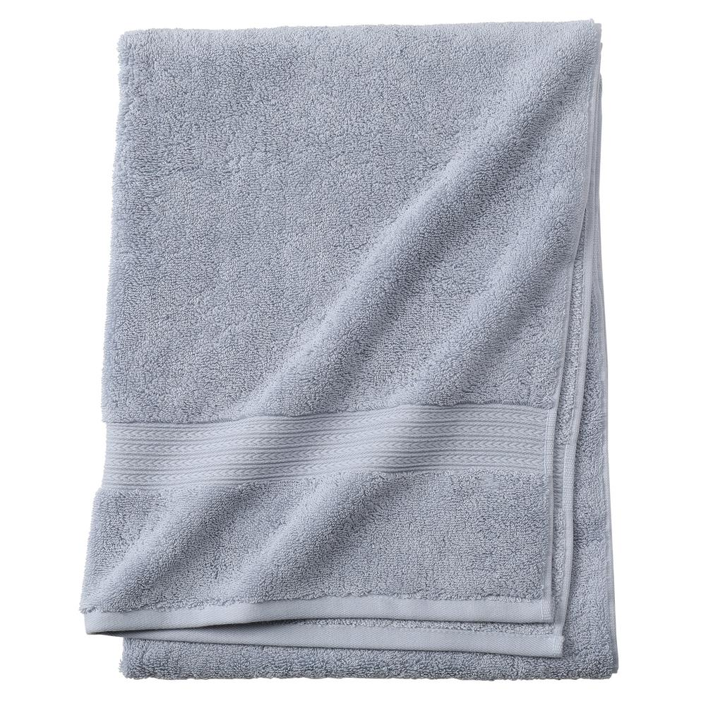 Home Decorators Collection Newport 1-Piece Bath Towel in Blue ...