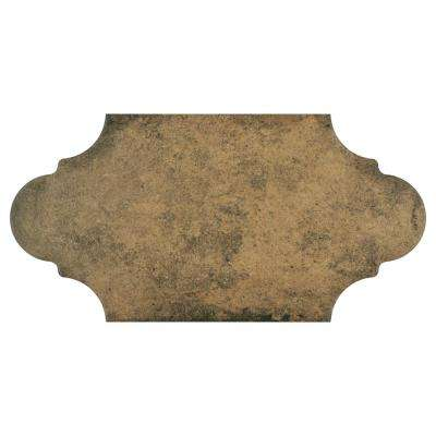 Alhama Provenzal Cotto 6-3/8 in. x 12-7/8 in. Porcelain Floor and Wall Tile (9.43 sq. ft. / case)