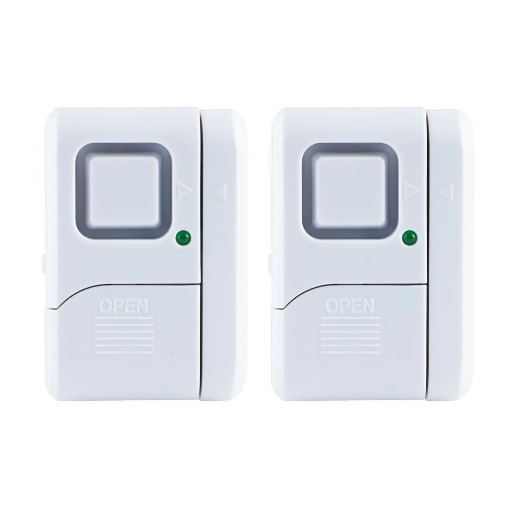 Ge Magnetic Window And Door Alarm 2 Pack