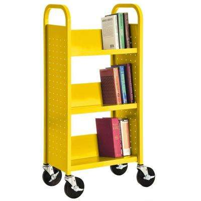 Sunshine Mobile Steel Bookcase