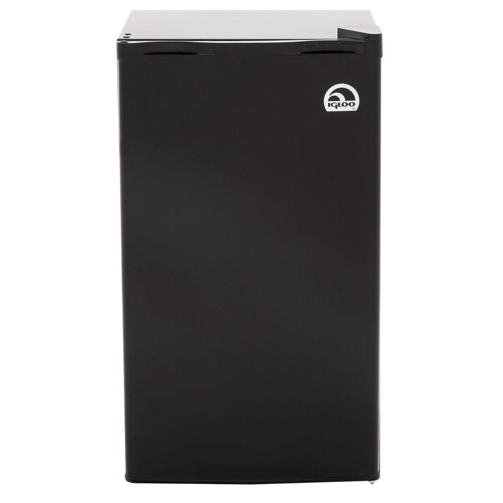 IGLOO 3.2 cu. ft. Mini Refrigerator in Black